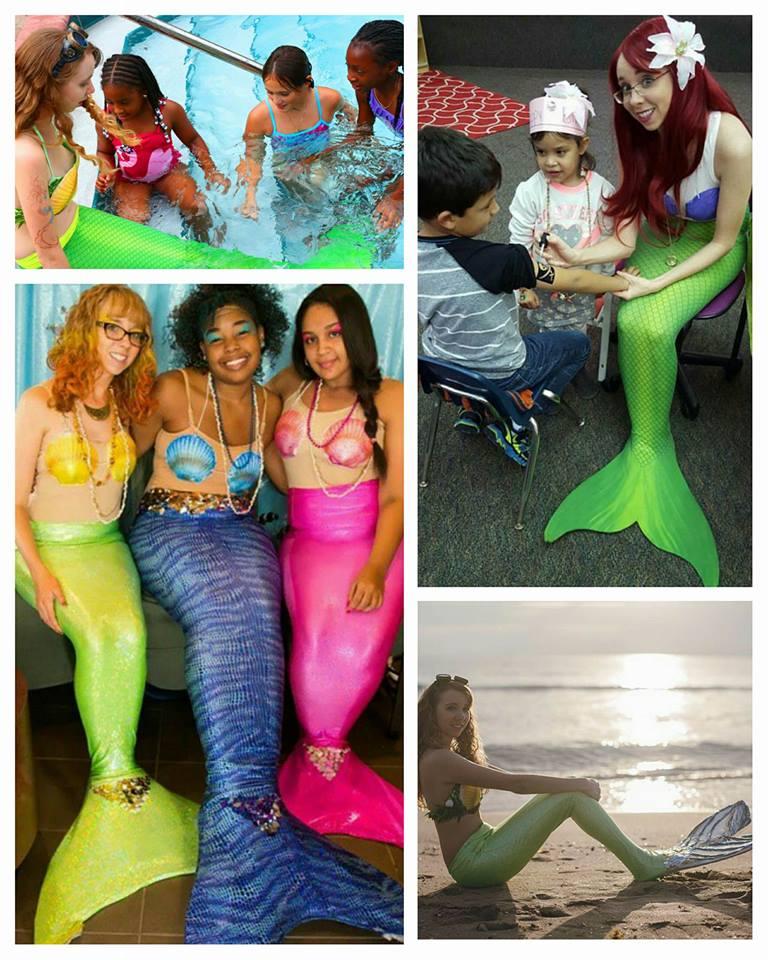 Always a splashing good time with mermaids!
